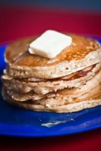 sunday pancakes stack