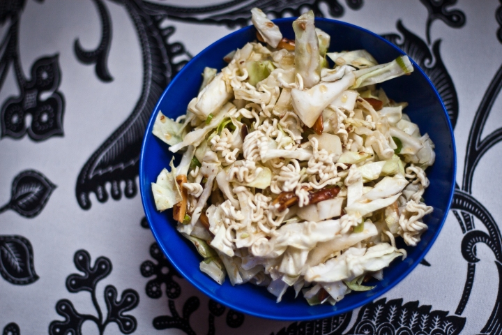 Mom's Cabbage Salad