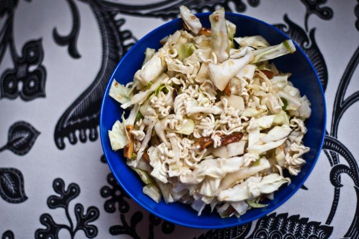 Mom's Cabbage Salad